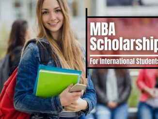 MBA Scholarships In Canada For International Students 2021
